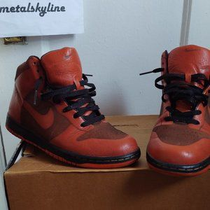 Nike Dunk High 1 piece ( Lasered leather) US: 8.5